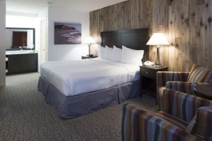 Mission Inn & Suites - Guest room with king bed